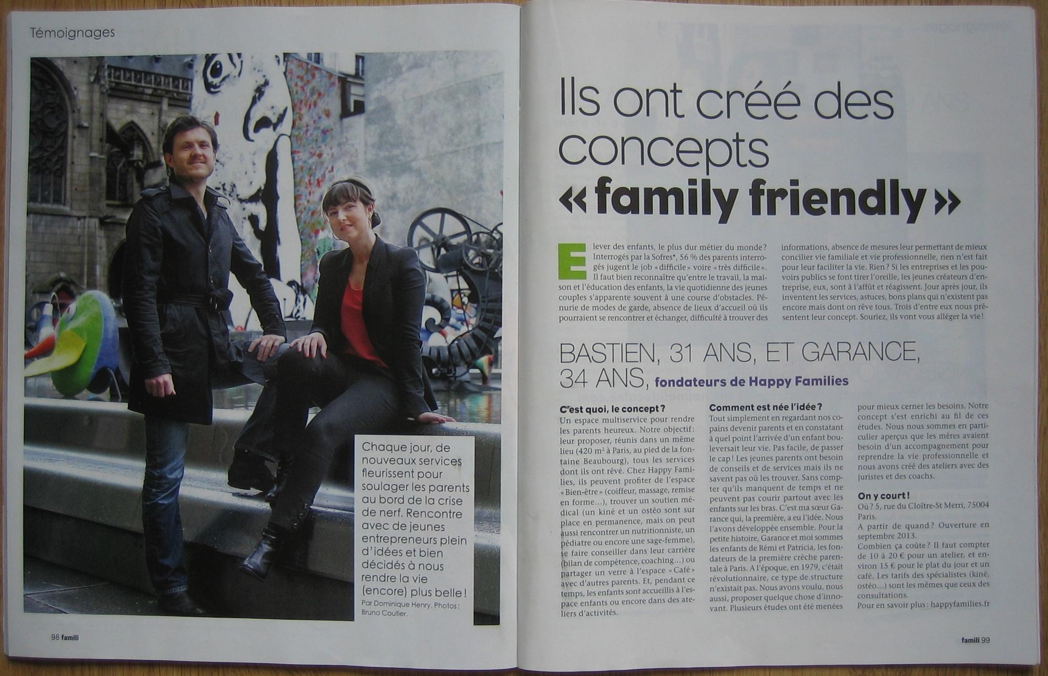 Article Famili - Happy Families