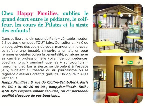 Happy Families dans Bubble Mag