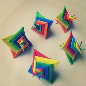 Happy Families - Origami